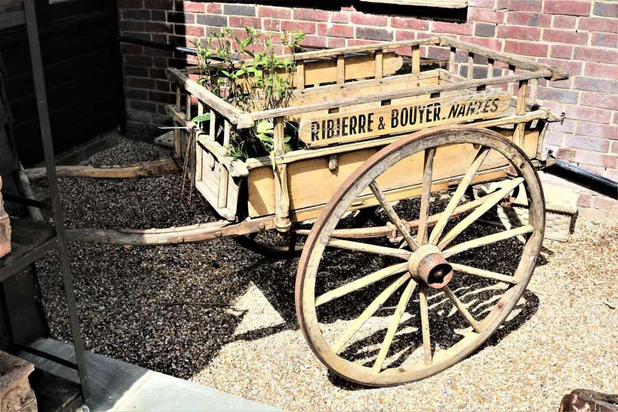 A French florists cart- 19th century  circa 1880