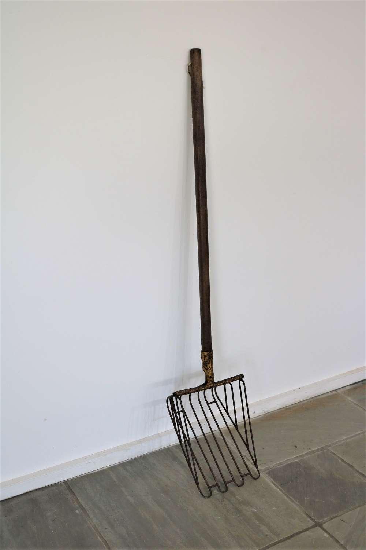 19th century metal shovel